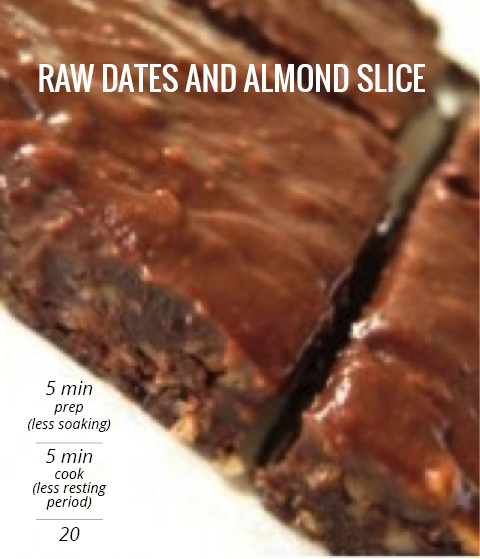 Raw Dates and Almost Slice Recipe