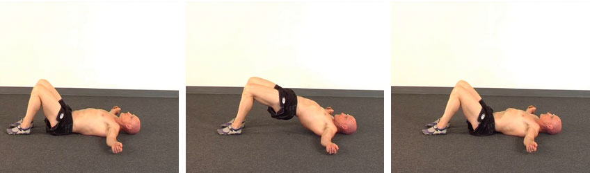 Supine Hip Extension